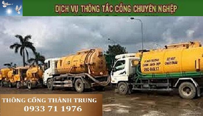 thông tắc cống tại quận Hoàng Ma