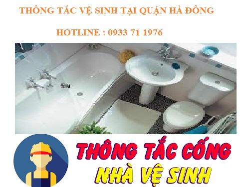 Thông tắc vệ sinh tại quận Hà Đông