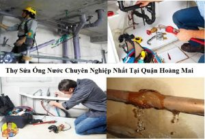 thợ sửa ống nước quận Hoàng Mai
