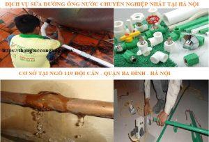 thợ sửa ống nước tại quận Ba Đình