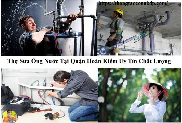 Thợ sửa ống nước tại quận Hoàn Kiếm