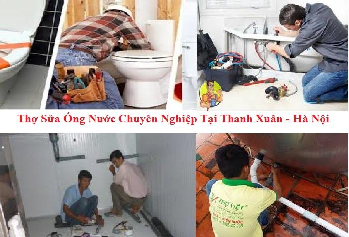 thợ sửa ống nước tại quận Thanh Xuân