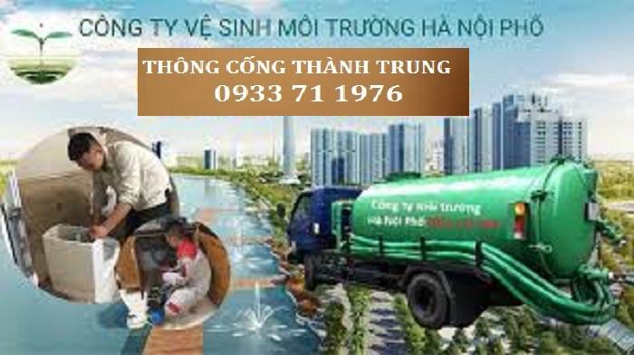 Thông tắc cống tại quận Long Biên