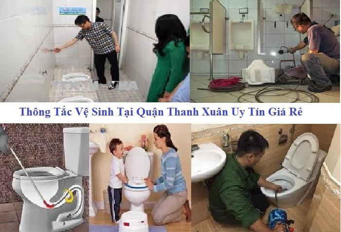 thông tắc vệ sinh tại quận Thanh Xuân