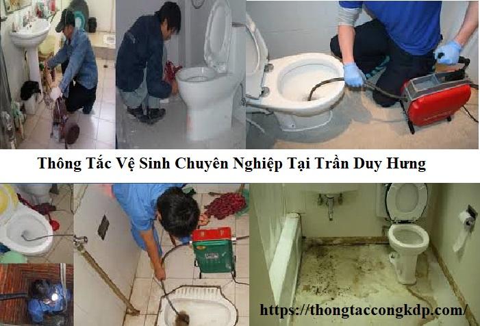 thông tắc vệ sinh tại Trần Duy Hưng