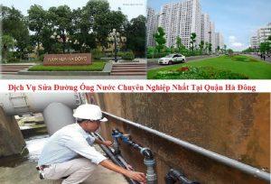 sửa đường ống nước tại quận Hà Đông