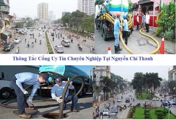 Thông tắc cống tại Nguyễn Chí Thanh 0933 71 1976