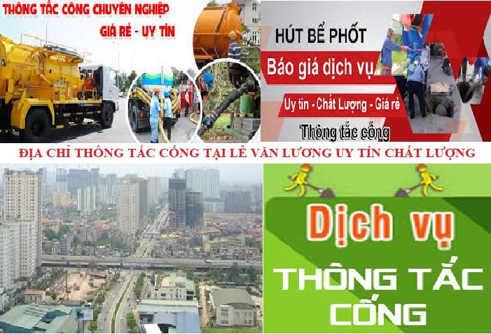 Thông Tắc Cống Tại Lê Văn Lương 0933 71 1976