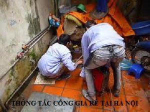 thông tắc cống tại Minh Khai
