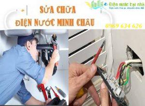 sửa chữa điện nước minh châu tại hà nội