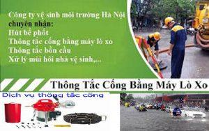 thông tắc cống tại Trần Duy Hưng