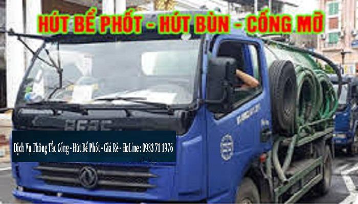 thông tắc cống tại Nguyễn Thị Thập