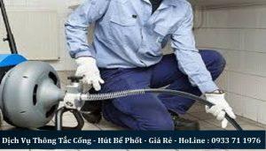 Dịch vụ thông tắc cống tại Đỗ Quang uy tín nhất