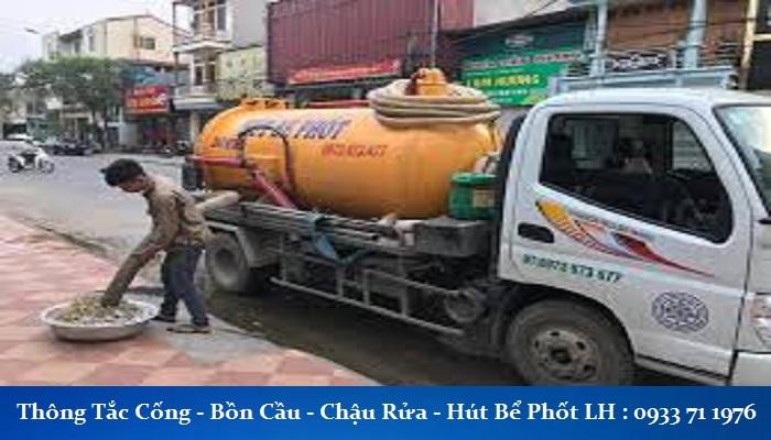 thông tắc cống tại Nguyễn Quý Đức