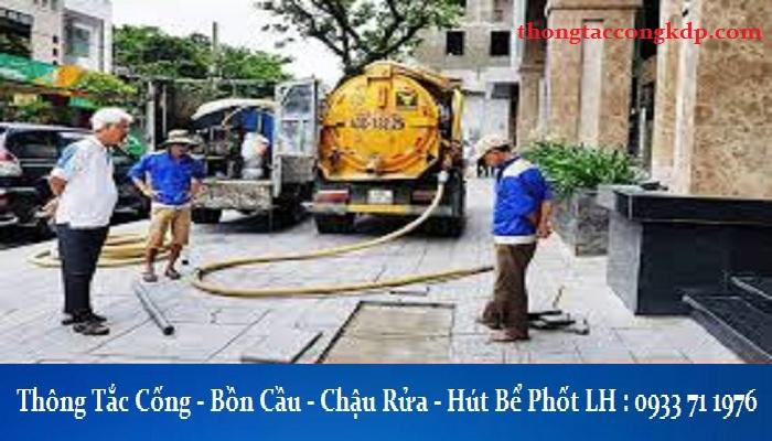 thông tắc cống tại Phạm Hùng