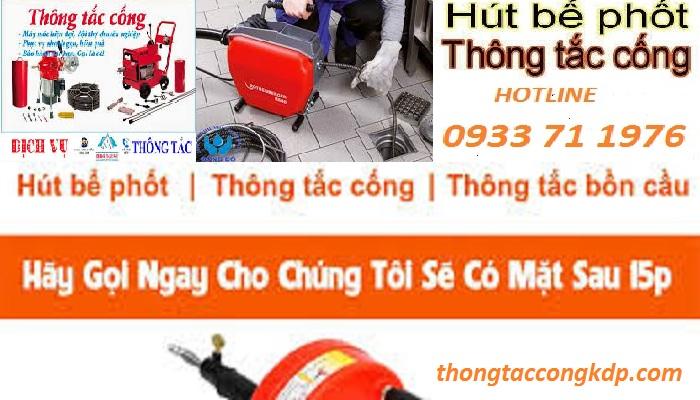 Thông tắc cống tại Thái Thịnh [ gọi 0933 71 1976 ]