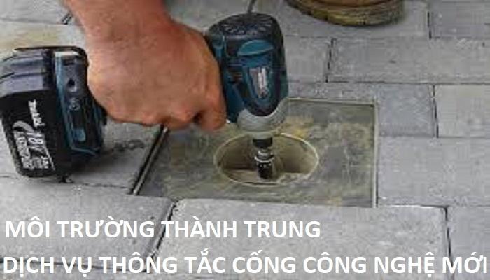 thông tắc cống tại Phạm Ngọc Thạch