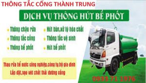 Thông tắc cống tại Phạm Ngọc Thạch 0933 71 1976